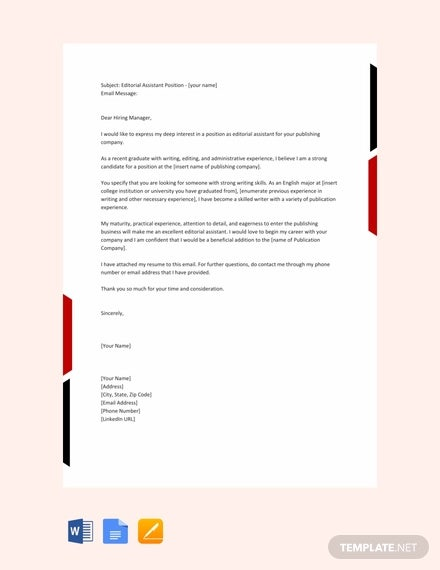 email cover letter templates free sample example format premium resume for job Resume Resume Email Cover Letter Sample