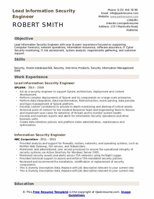 information security specialist resume samples qwikresume sailpoint support engineer pdf Resume Sailpoint Support Resume