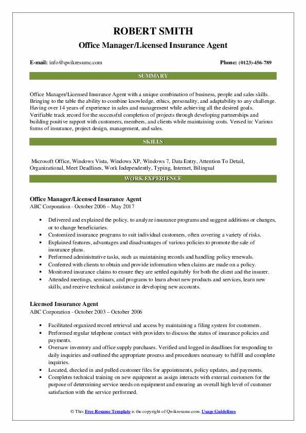 licensed insurance agent resume samples qwikresume health pdf pocket card template Resume Licensed Health Insurance Agent Resume