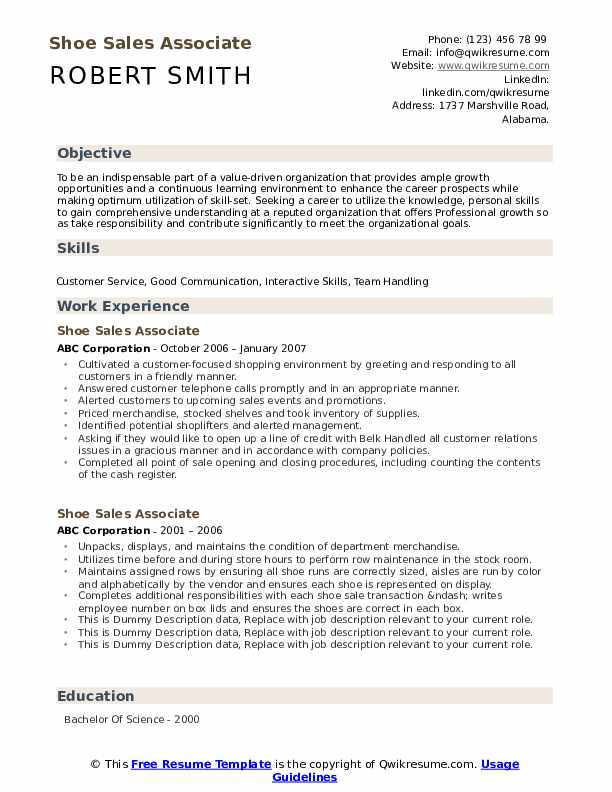 shoe associate resume samples qwikresume format for footwear industry pdf campaign Resume Resume Format For Footwear Industry