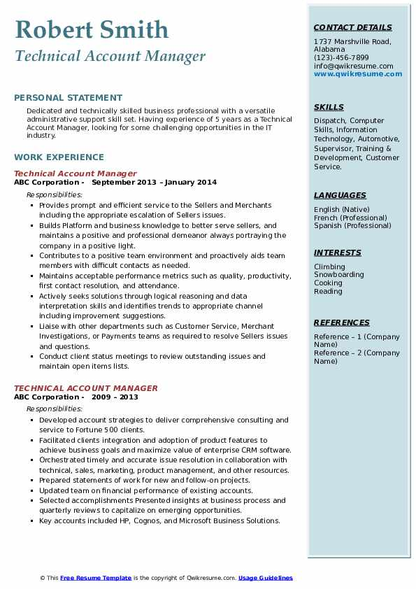 technical account manager resume samples qwikresume technology pdf pmo sample for bcom Resume Technology Account Manager Resume