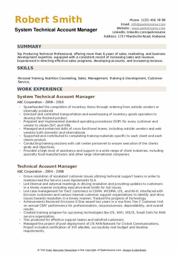 technical account manager resume samples qwikresume technology pdf prince2 certification Resume Technology Account Manager Resume