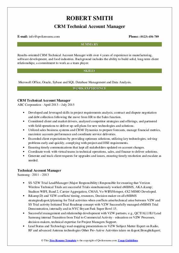 technical account manager resume samples qwikresume technology pdf quick free controller Resume Technology Account Manager Resume