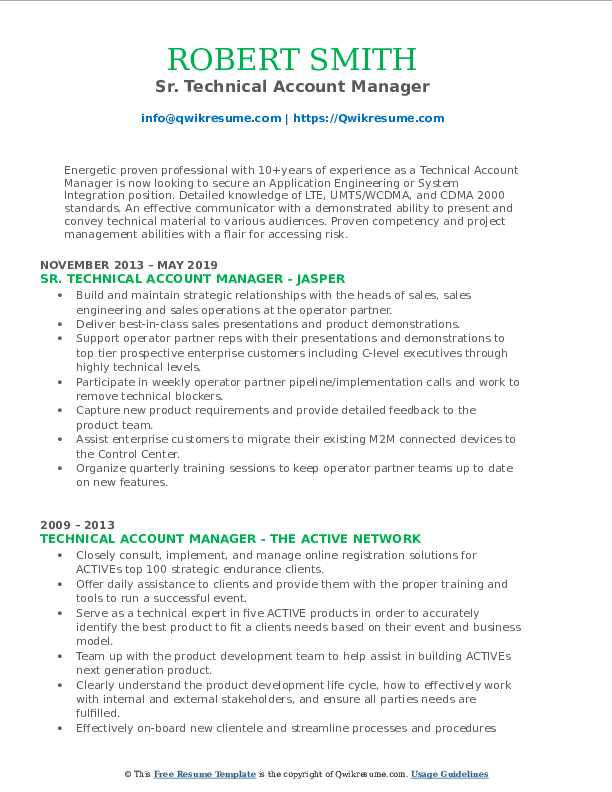 technical account manager resume samples qwikresume technology pdf sample for rbt the Resume Technology Account Manager Resume