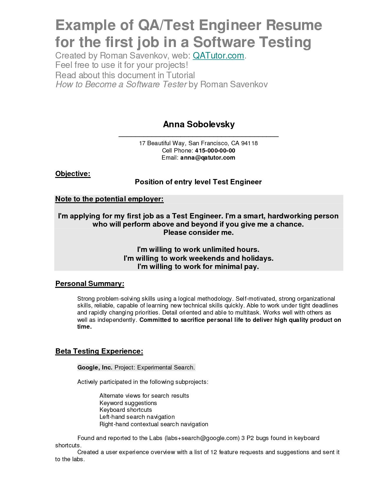 to write your first resume example seven things know before writing sample objective for Resume Sample Objective For Resume First Job
