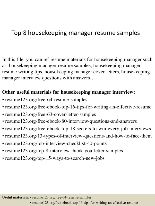 top housekeeping manager resume samples hotel supervisor sample technical support summary Resume Hotel Housekeeping Supervisor Resume Sample