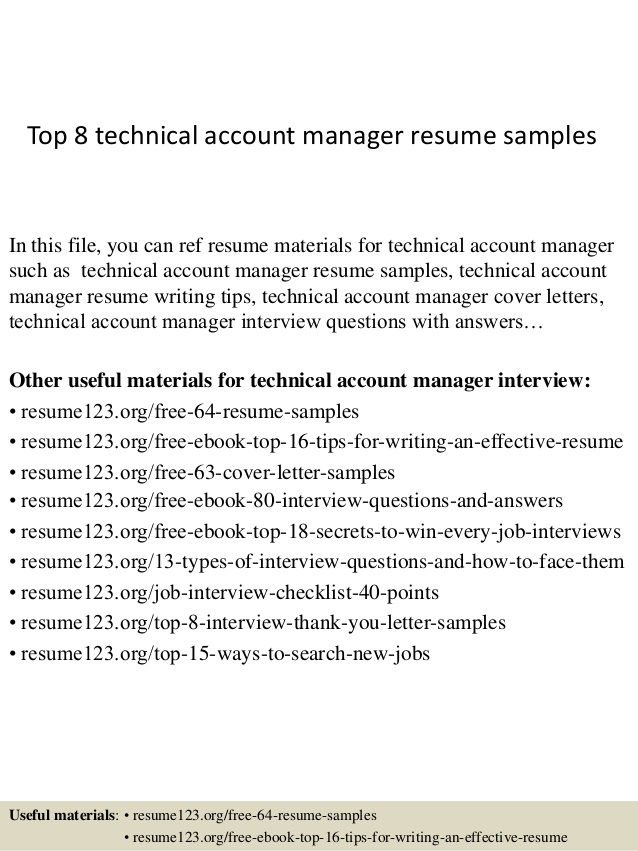 top technical account manager resume samples technology rite aid shift supervisor Resume Technology Account Manager Resume