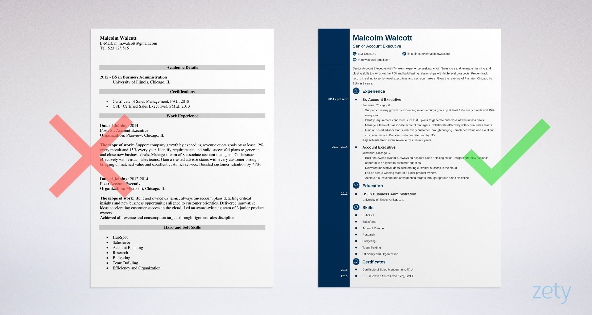 account executive resume sample best examples format example mcdonalds manager job Resume Account Executive Resume Format Download