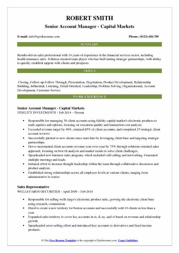 account manager resume samples qwikresume fidelity investments pdf track and field Resume Fidelity Investments Resume