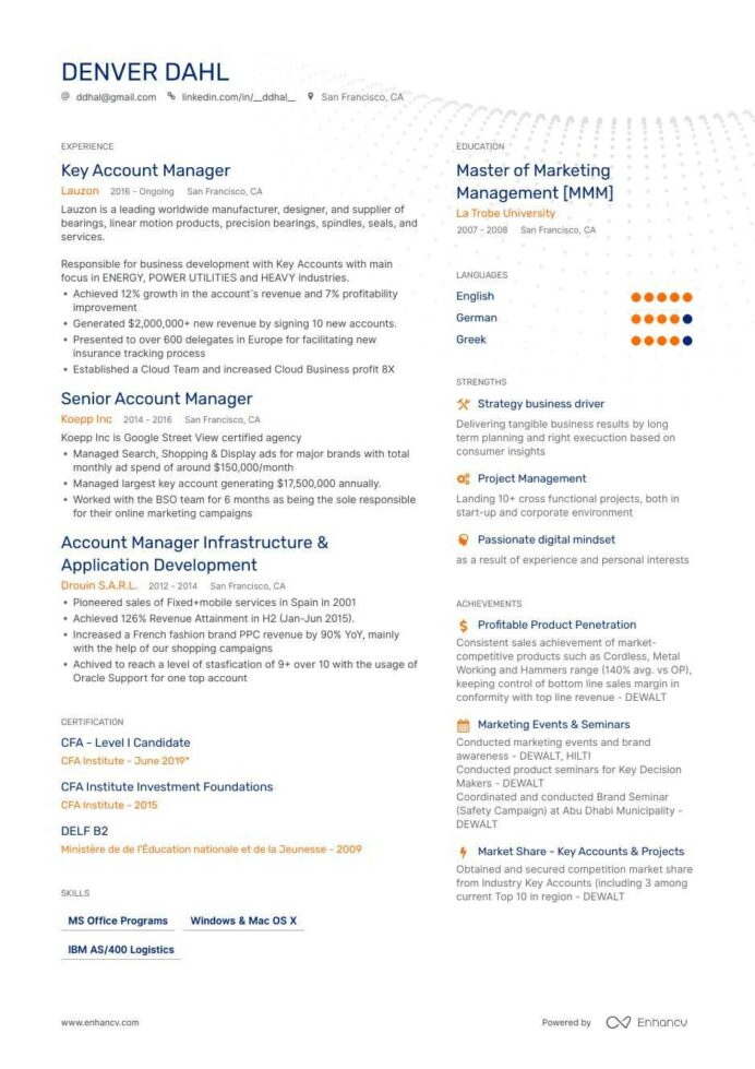 account manager resume ultimate writing guide with samples fashion executive generated Resume Fashion Account Executive Resume