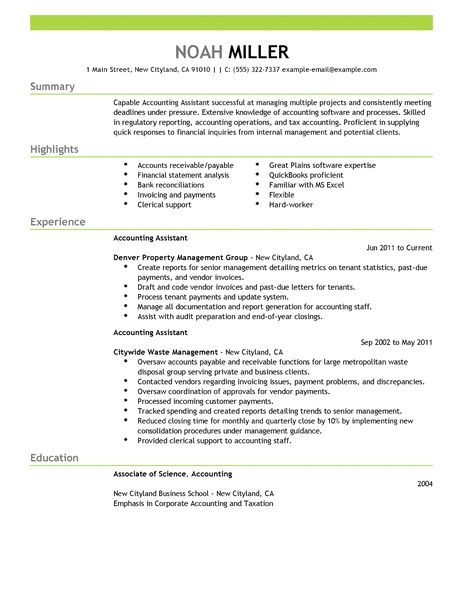 accounting assistant resume examples finance livecareer accountant retail Resume Accounting Assistant Responsibilities Resume