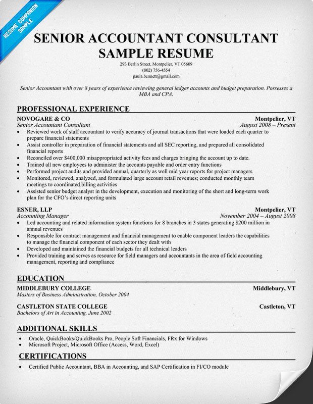accounting resume writing tips accountant examples sample senior manager auto body man Resume Senior Accountant Accounting Manager Resume