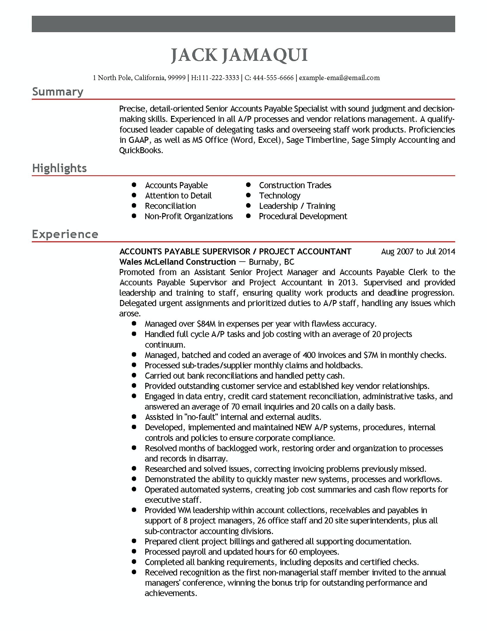 accounts payable manager resume are you with excellent and job examples clerk duties for Resume Accounts Payable Clerk Duties For Resume