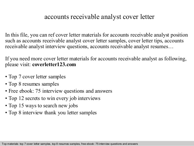 accounts receivable analyst cover letter resume lawyer tips payroll template leather Resume Accounts Receivable Analyst Resume