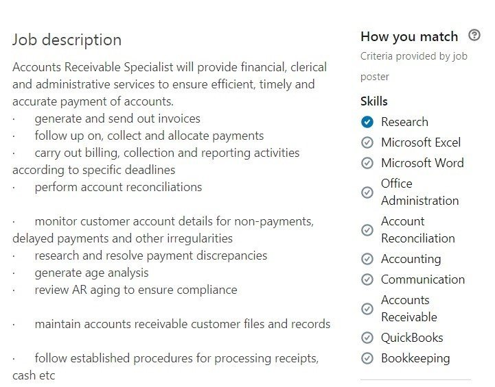 accounts receivable resume samples ar examples payable clerk duties for example1 Resume Accounts Payable Clerk Duties For Resume