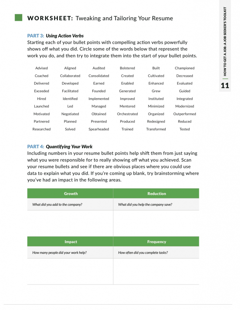 action verbs that take your resume from blah to brilliant glassdoor good words for Resume Good Action Words For Resume