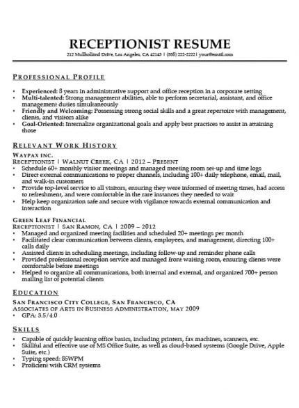 administrative assistant resume example write yours today in examples office manager job Resume Administrative Assistant Resume 2020