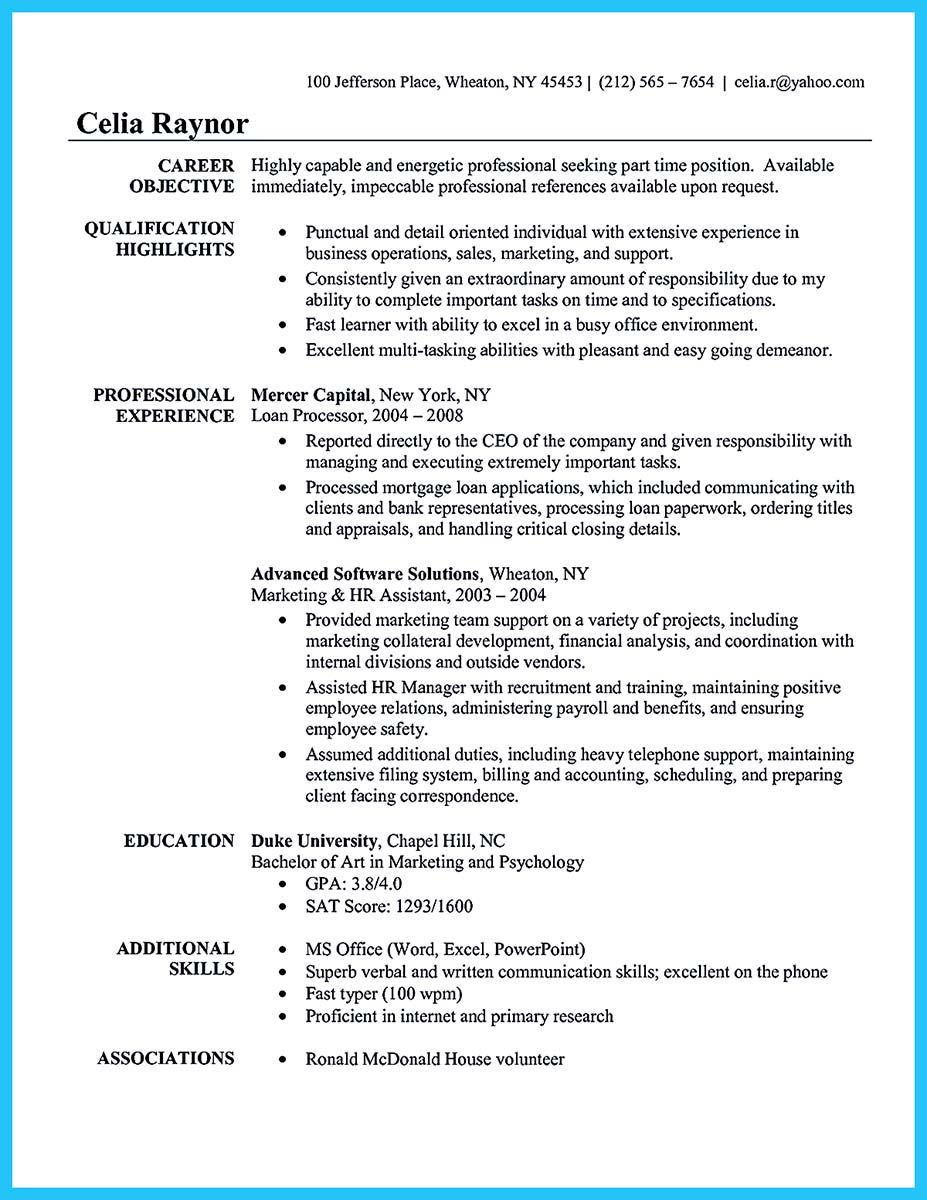 administrative assistant resume sample is useful for you are now looking objective Resume Loan Assistant Resume Sample