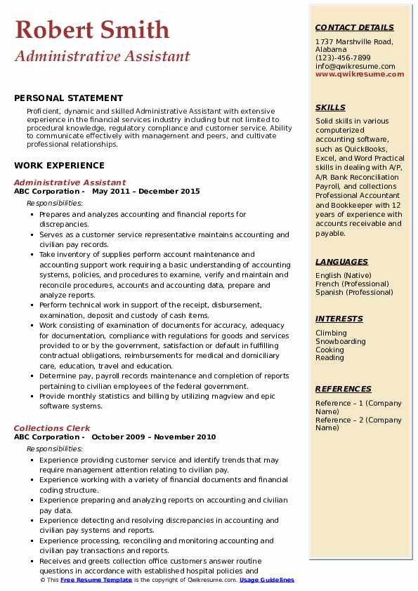 administrative assistant resume samples qwikresume professional pdf delivery head sample Resume Administrative Professional Resume