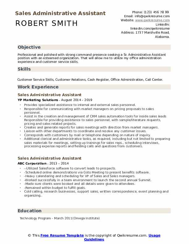 administrative assistant resume samples qwikresume summary pdf employment history order Resume Administrative Assistant Resume Summary