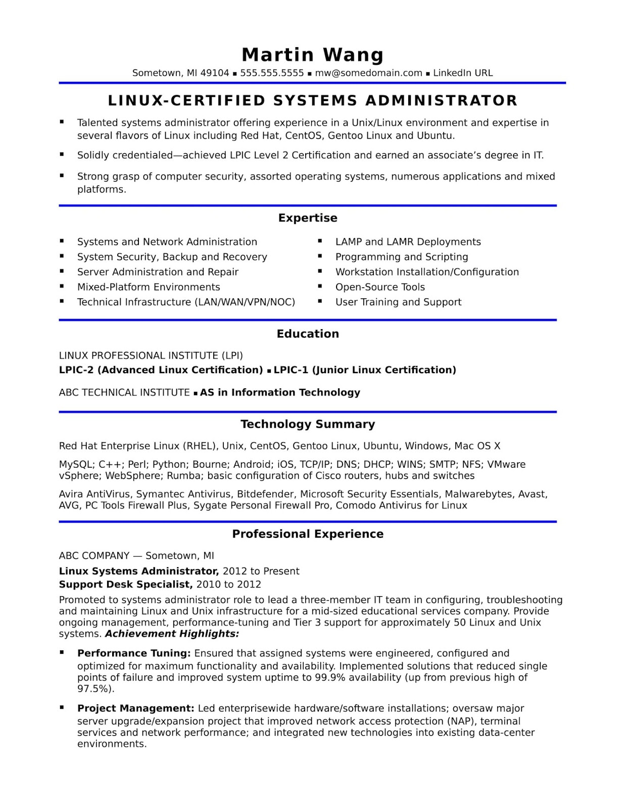 administrator resume sample templates microsoft azure template free for switching careers Resume Microsoft Azure Administrator Sample Resume