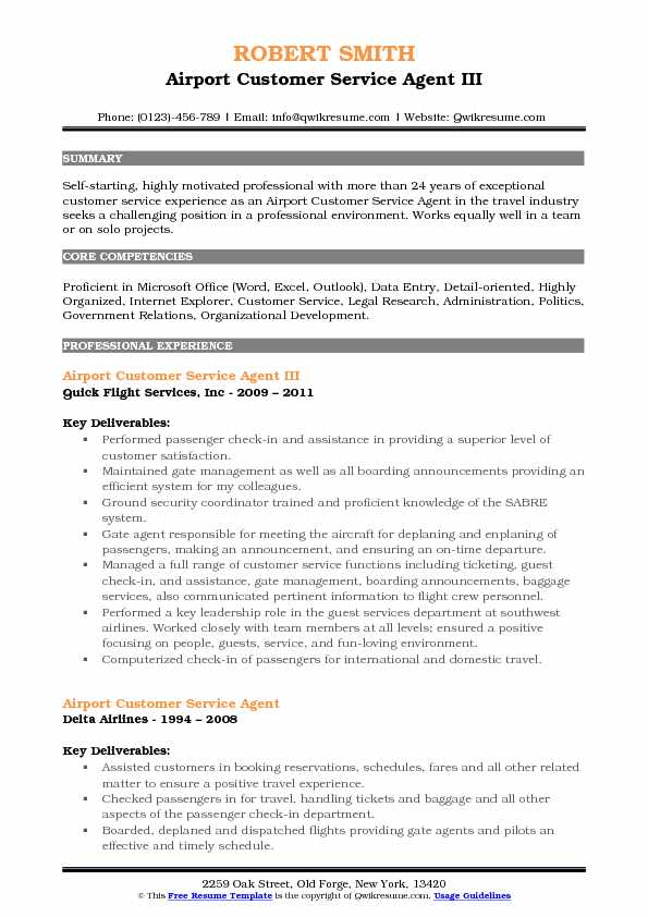 airport customer service agent resume samples qwikresume entry level airline pdf examples Resume Entry Level Airline Customer Service Resume