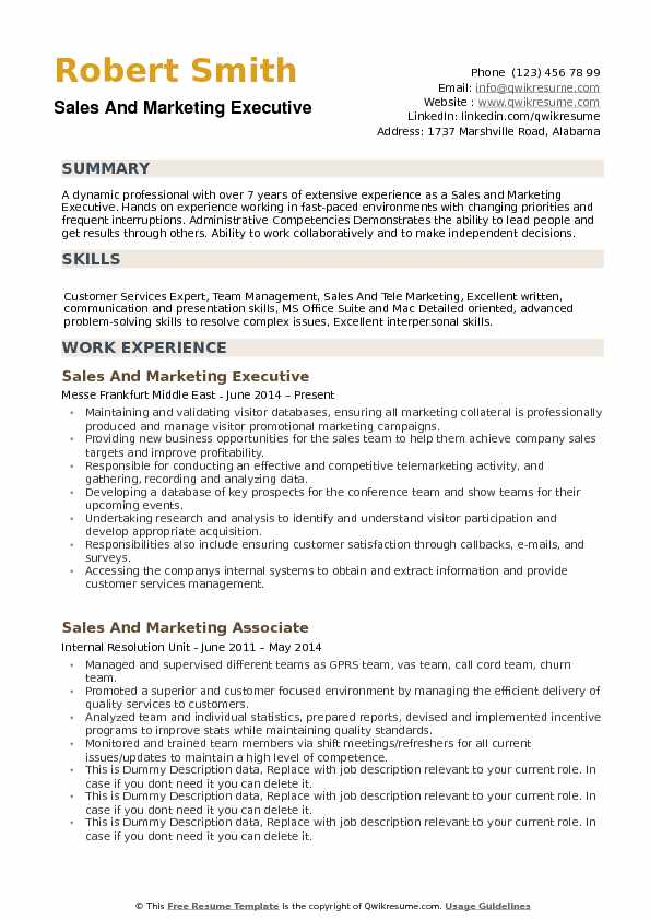 and marketing executive resume samples qwikresume pdf creative writer template medical Resume Marketing Executive Resume