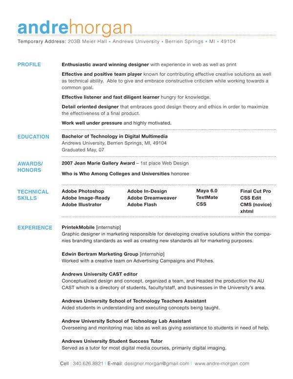 andre student resume template good examples best unique strengths for rn nurse factory Resume Unique Strengths For Resume