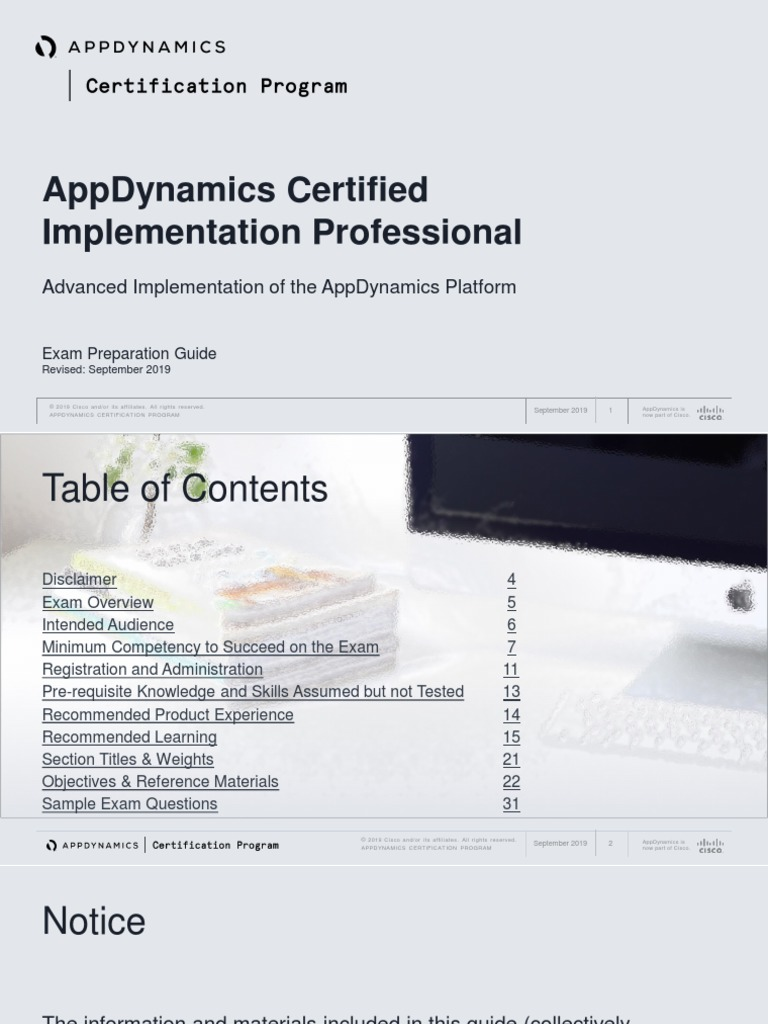 appdynamics certified implementation professional acip preparation guide web application Resume Appdynamics Sample Resume