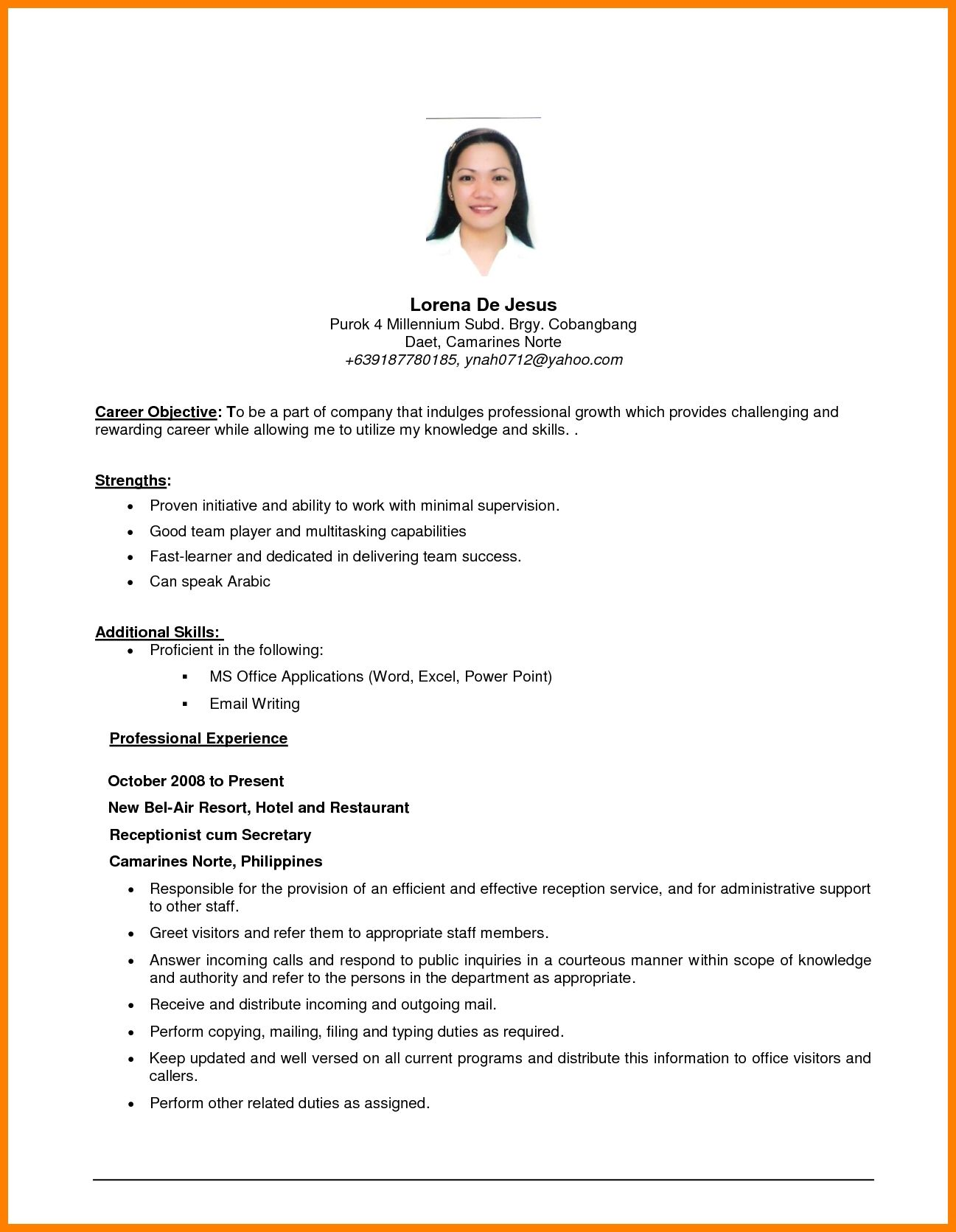 apply job to write career objective today resume examples for any position professional Resume Resume Objective Examples For Any Position
