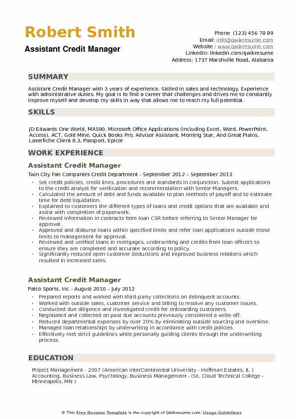 assistant credit manager resume samples qwikresume format pdf communication synonym Resume Credit Manager Resume Format
