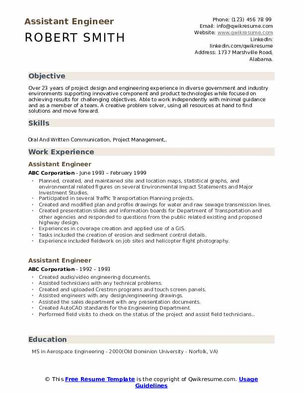 assistant engineer resume samples qwikresume civil pdf factory worker examples legal good Resume Assistant Civil Engineer Resume