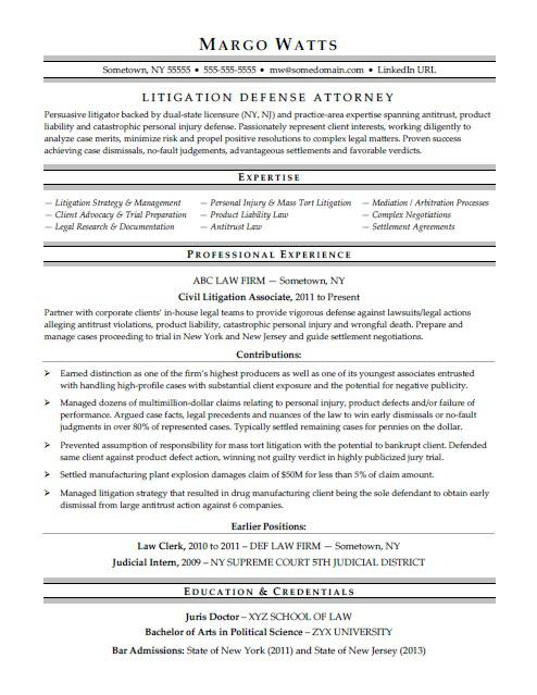attorney resume sample monster law school examples simple for customer service Resume Law School Resume Examples