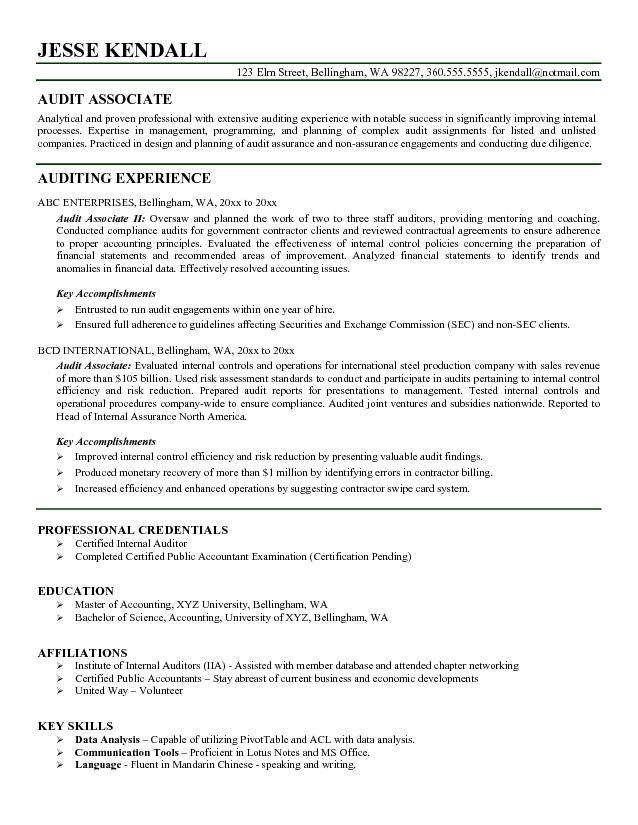 auditor resume bank audit experience for functional skill categories sample entry level Resume Bank Audit Experience For Resume
