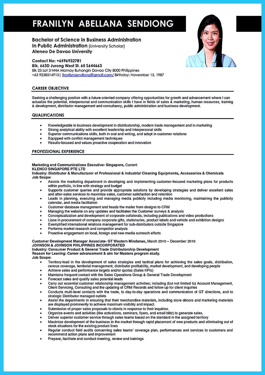 awesome appealing formula for wonderful business administration resume check more at http Resume Resume For Business Administration Position