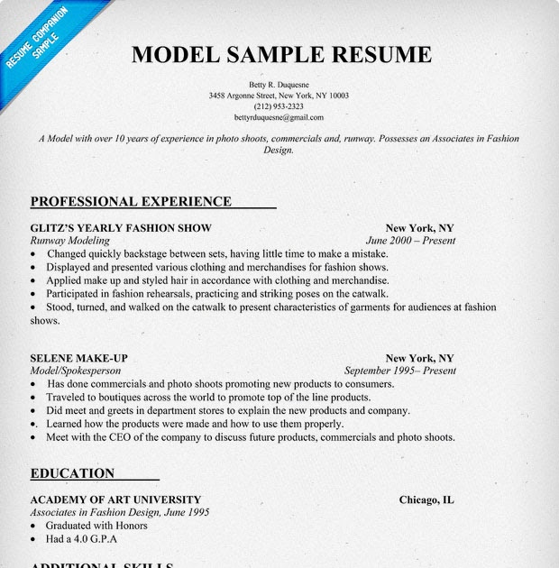 awesome good resume models best examples fashion model format for planning engineer game Resume Fashion Model Resume Examples
