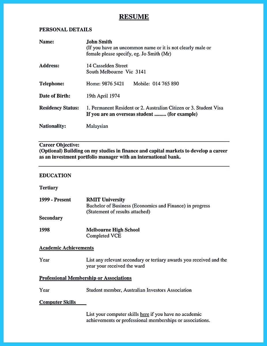 awesome one of recommended banking resume examples to learn bank make objective permanent Resume Resume Permanent Resident