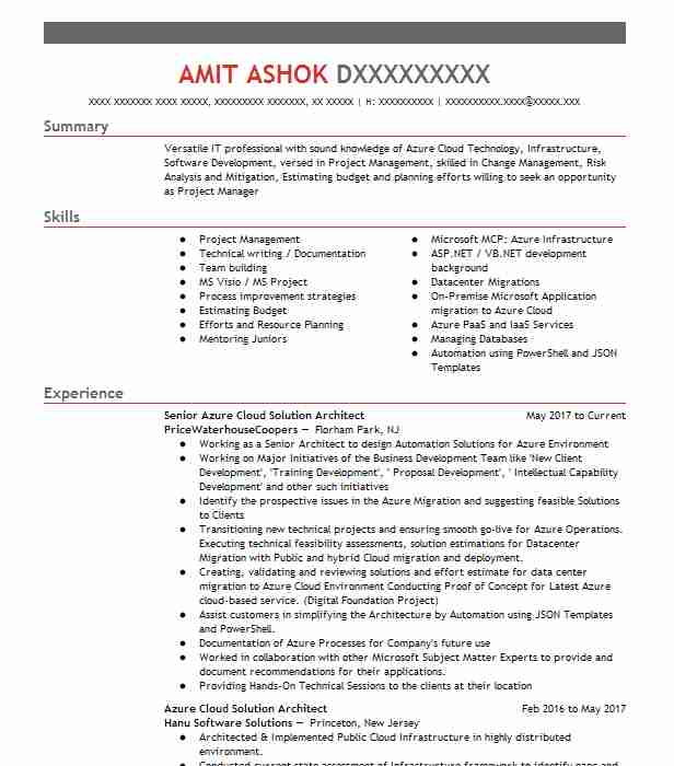 azure engineer resume example cognizant technology solutions bentonville microsoft Resume Microsoft Azure Administrator Sample Resume