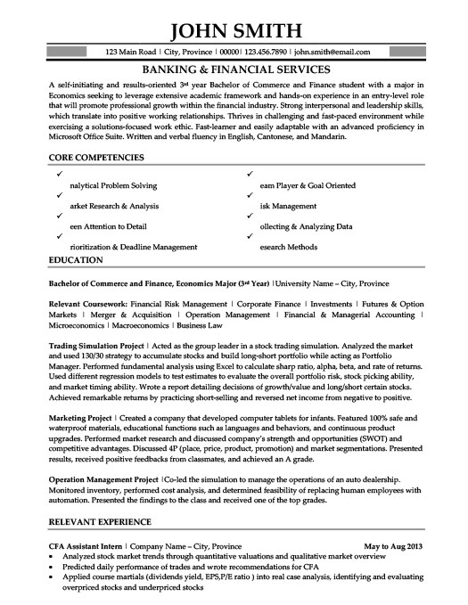 banking and financial services resume template premium samples example manicurist awesome Resume Financial Services Resume