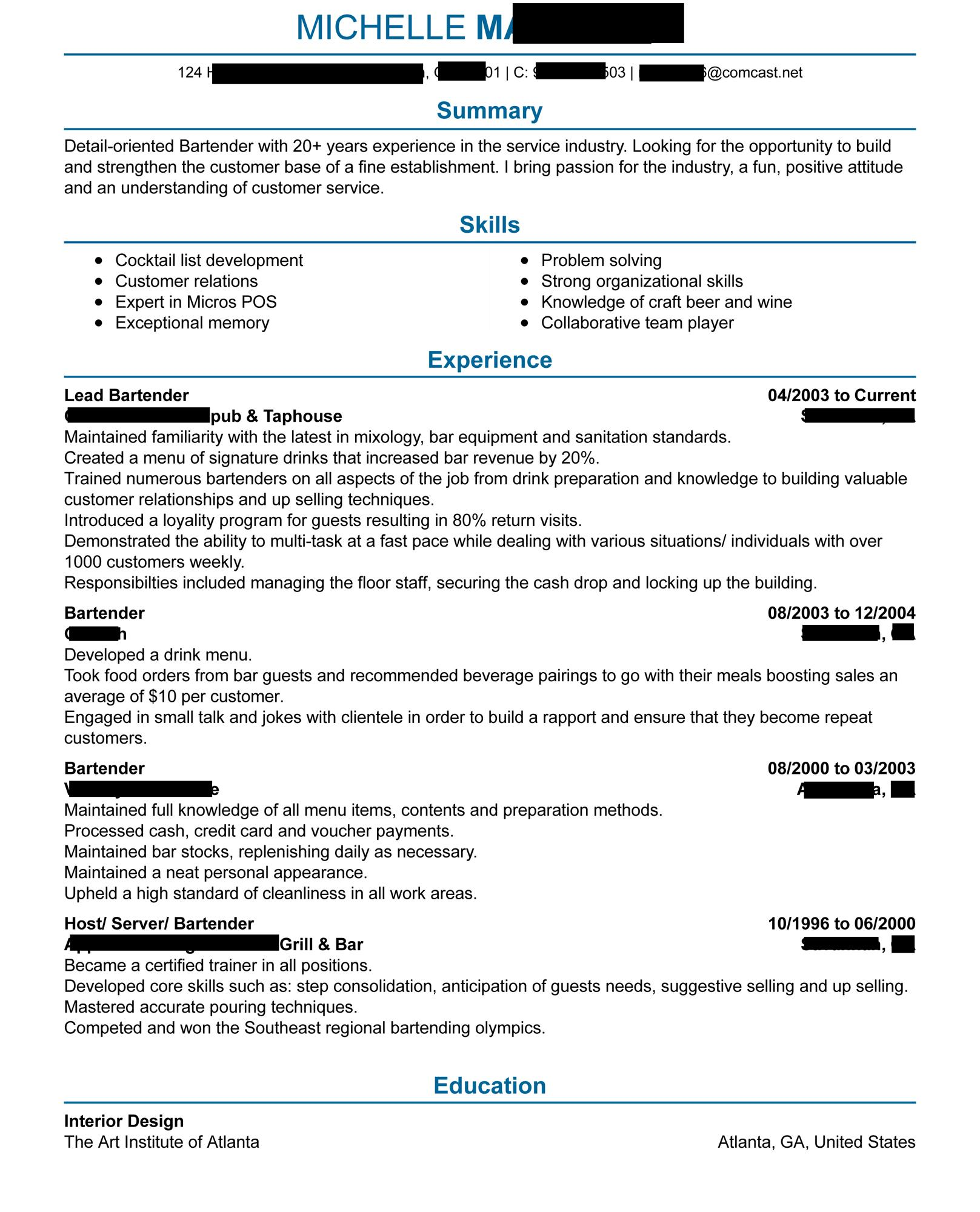 bartender resume any critiques are appreciated resumes reddit best template oa2jgmcwdvc01 Resume Reddit Best Resume Template