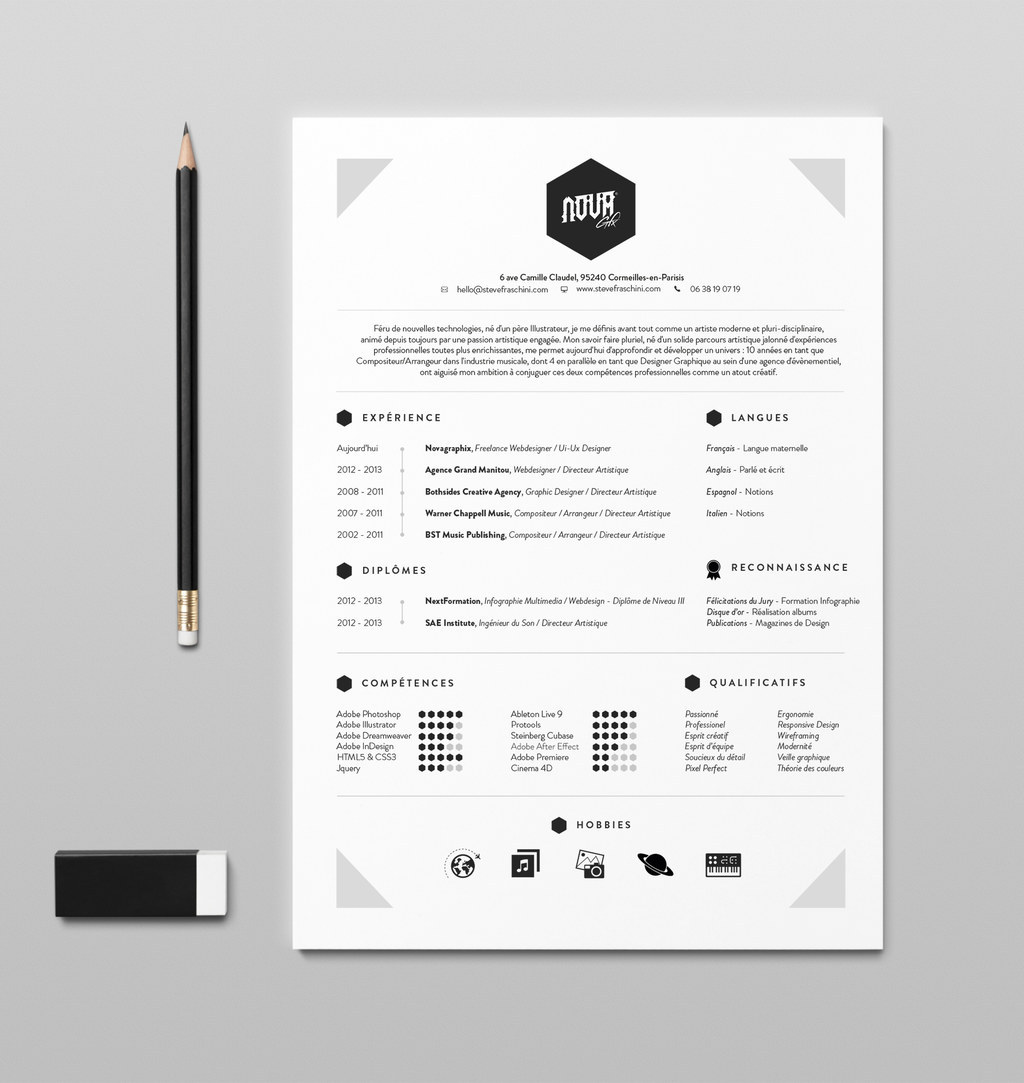 beautiful résumé designs you ll want to steal well designed resume examples original Resume Well Designed Resume Examples