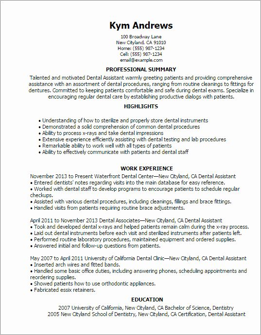 beginner dental student resume best examples assistant gpa on professional writing Resume Beginner Dental Assistant Resume