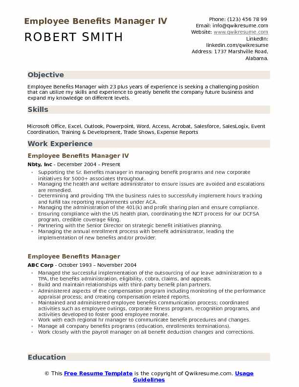 benefits manager resume samples qwikresume of microsoft employee pdf duty letter market Resume Resume Of Microsoft Employee