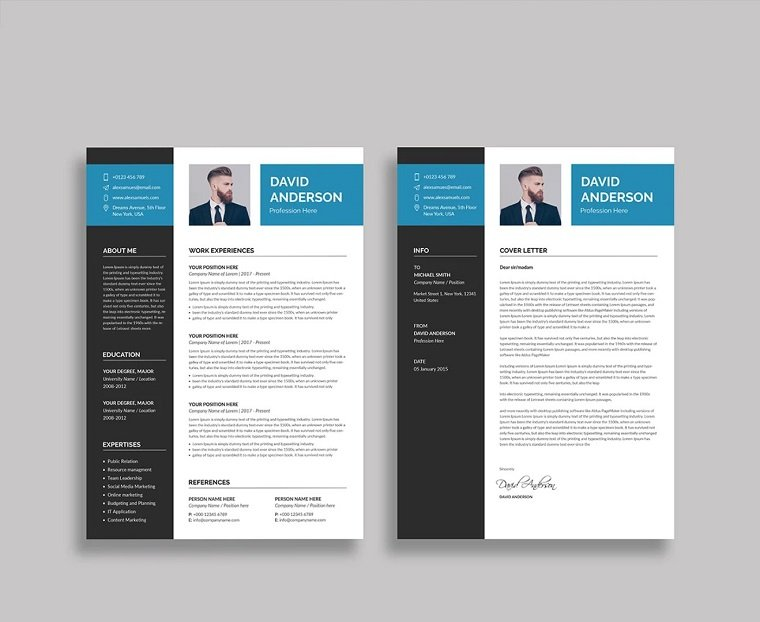 best associate resume templates david template work study modern free professional Resume Best Resume Templates 2020