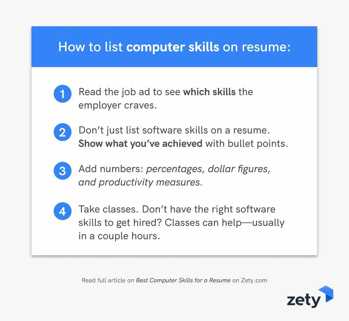 best computer skills for resume software employers office and to on plumber marketing Resume Office And Computer Skills For Resume