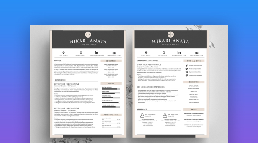 best contemporary resume cv templates new modern styles for elements2 representative job Resume Best Resume Templates 2020