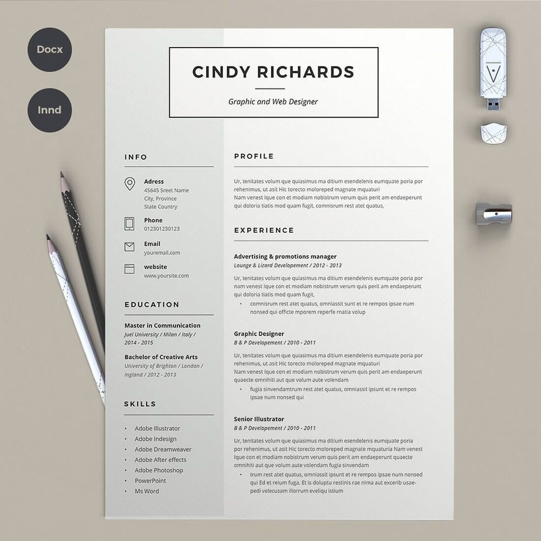 best cv resume templates creative template design strong examples marketing intern Resume Strong Resume Examples 2020