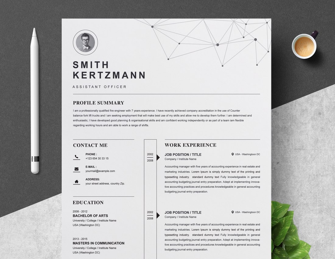 best cv resume templates design shack modern template examples free professional quick Resume Modern Resume Template Examples