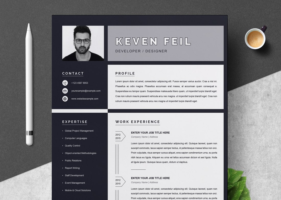 best cv resume templates design shack template free black microsoft agile software Resume Resume Template 2020 Free Download