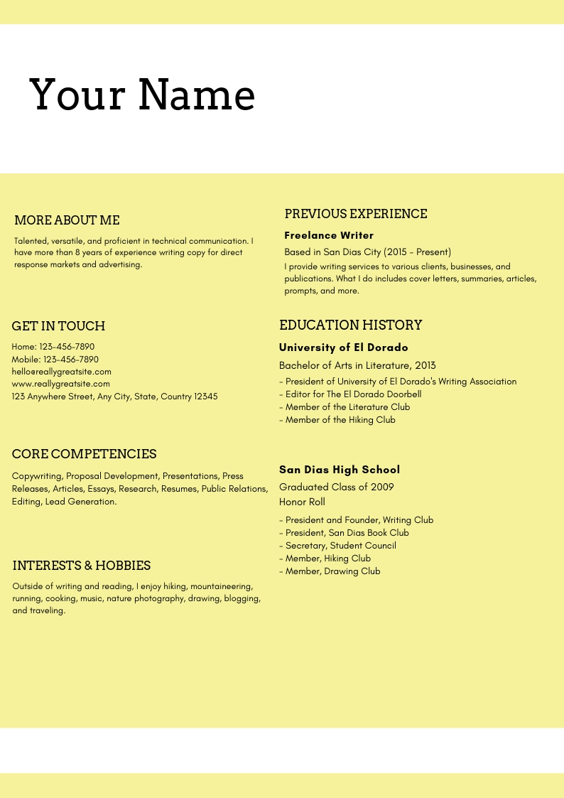 best examples of digital marketing resume for freshers writer content sample custodian Resume Marketing Resume Writer
